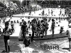 A pool party 90 years in the making