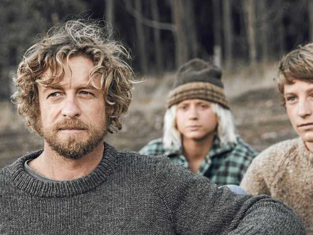 Simon Baker in a still from the film Breath (2018).