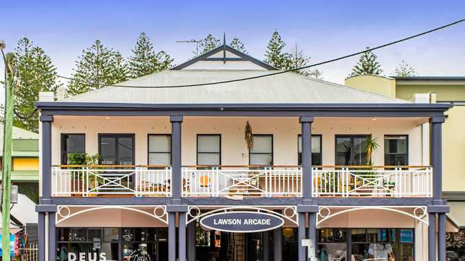 SOLD: Lawson Arcade Byron Bay has been snapped up by a Hong Kong based private investor for $6.48million.