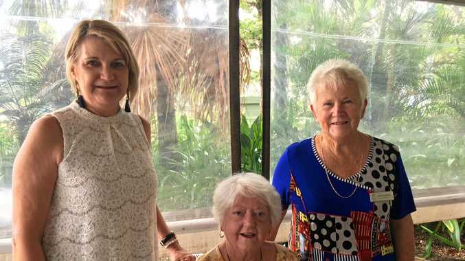 SOMETHING TO CELEBRATE: Rosemary Laughren, Penny Chidlow and Sandra Harding.