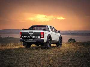 Holden Colorado LSX gets beefy black treatments