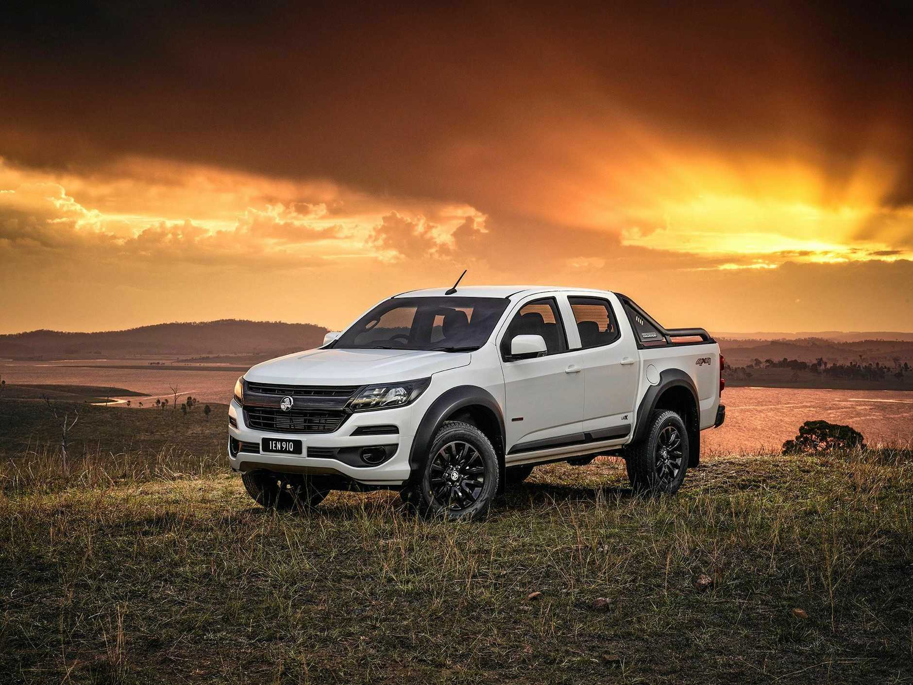 The Holden Colorado LSX is priced from $44,990 drive-away.