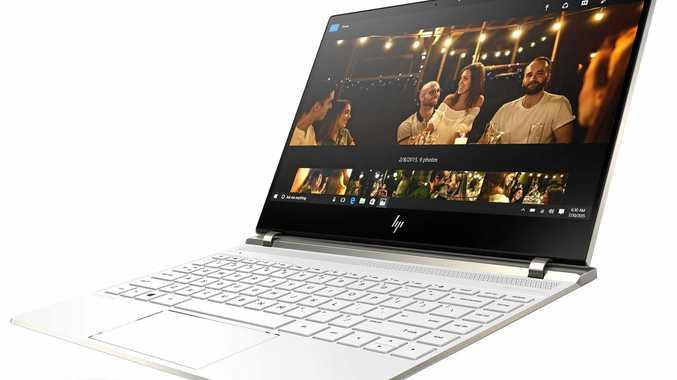 LAPTOP LUXURY: HP Spectre 13 is truly a beautiful, super thin, sleek machine.
