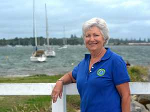 PADDLE POWER: Iluka Rowing and Aquatic Club coach Gayle Armour believes in the health benefits of rowing.