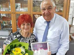 Life member with multiple roles named Woman of the Year