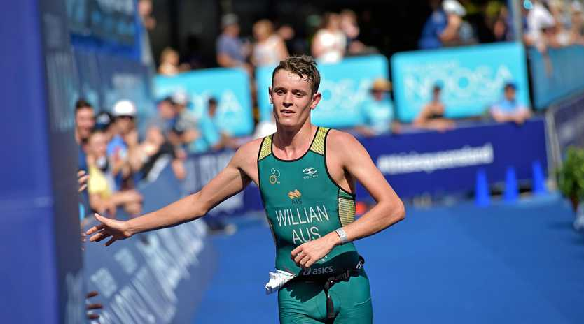 RACE ON: Luke Willian is keen for a good result at the Mooloolaba ITU World Cup.