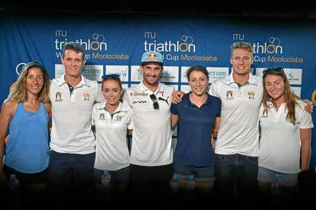 Mooloolaba ITU World Cup press conference.