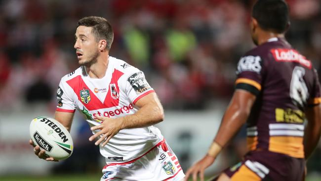 Ben Hunt haunted Brisbane with a strong performance.