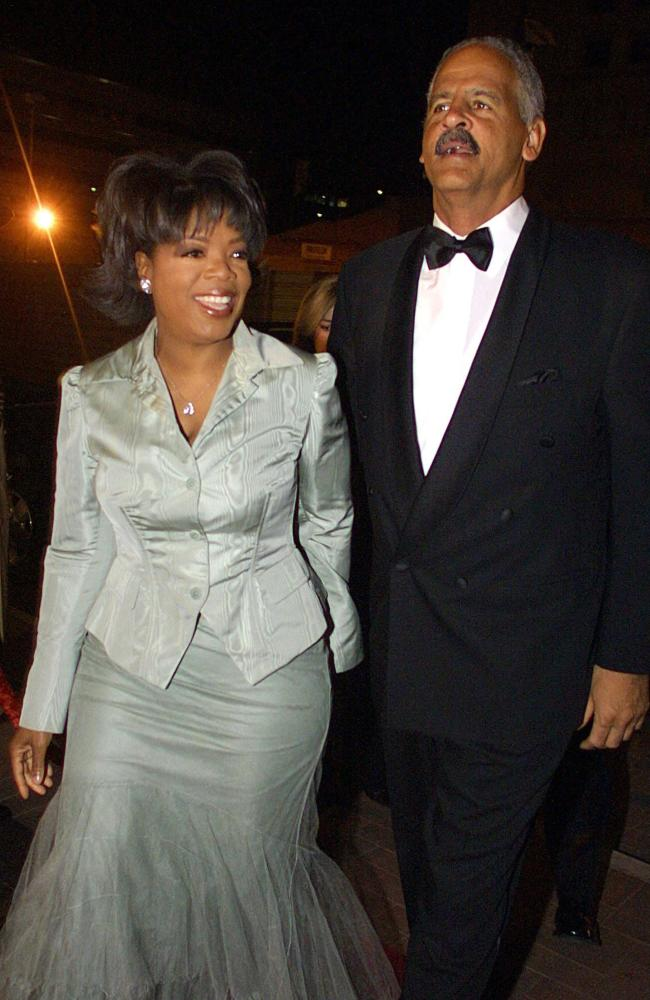 Oprah Winfrey and Steadman Graham, pictured together in 2003. Picture: AFP