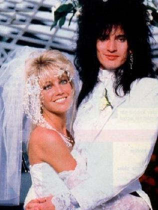 Heather Locklear and Tommy Lee were married from 1986 to 1993. Picture: Supplied