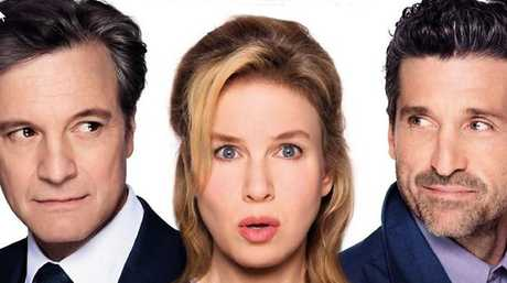 Colin Firth recently competed on screen against Patrick Dempsey for the affections of Renée Zellweger in Bridget Jones's Baby. Picture: Universal Pictures