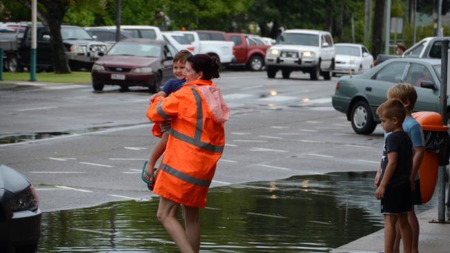 Flooding in Ingham. Photo Chris Lees