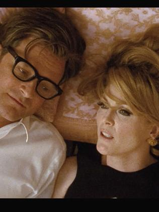 Colin Firth and Julianne Moore in A Single Man. Picture: Supplied