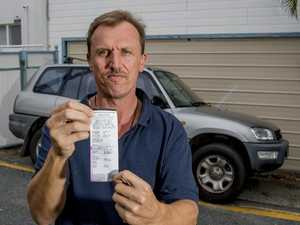 This man was fined for parking at his own home