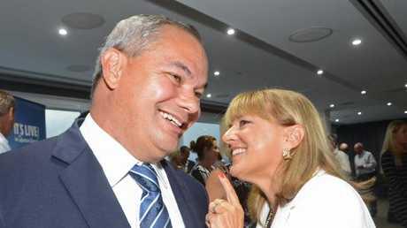 Mayor Tom Tate and Deputy Mayor Donna Gates. Picture: Regina King