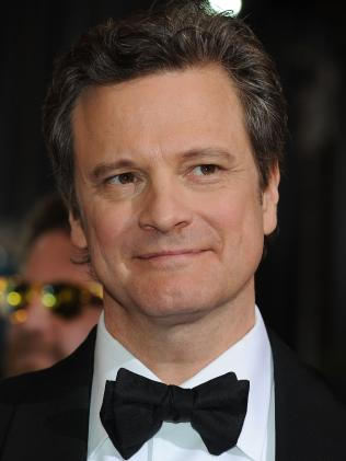 Actor Colin Firth. Picture: AFP