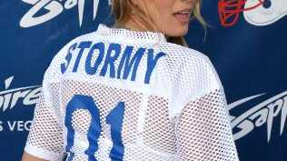 Adult film star Stormy Daniels. Picture: AFP