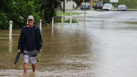 Ray Miller on his way to the supermarket in Ingham. Picture: Andrew Kacimaiwai