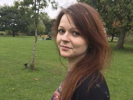Yulia Skripal. Picture: Facebook