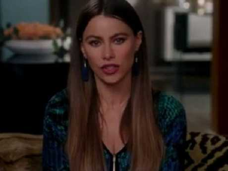 Sofia Vergara joined her Modern Family co-stars. Picture: Instagram