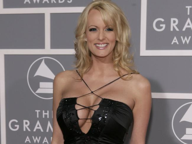 Adult film actress Stormy Daniels. Picture: AP