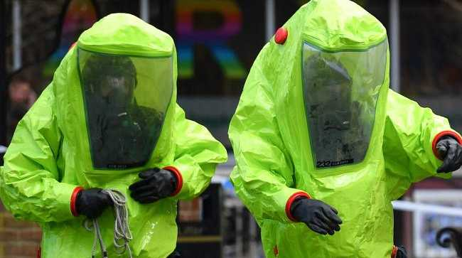 EMERGENCY crews have shut down parts of an English town over a suspected Novichok nerve agent attack.