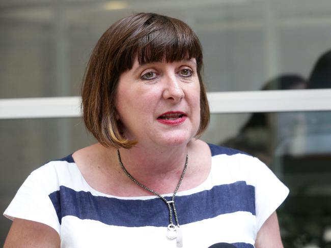 Qld Nurses Union secretary Beth Mohle wants aged care facilities to reveal their staffing levels. Picture: Liam Kidston