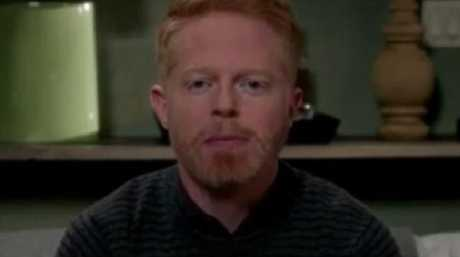 Jesse Tyler Ferguson in the Modern Family video. Picture: Instagram