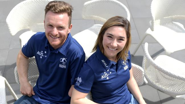 Mitch Gourley and Joany Badenhorst are two of Australia's big hopes.