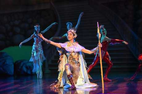 Cormac McDonald in his role in BTQ's Prince Triton.