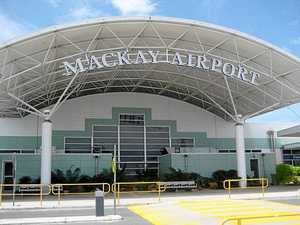 Emergency landing at Mackay airport
