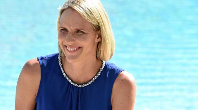 Swimming legend Susie O'Neill will visit the Sunshine Coast on Monday.