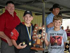 Promising juniors rewarded at cricket presentation