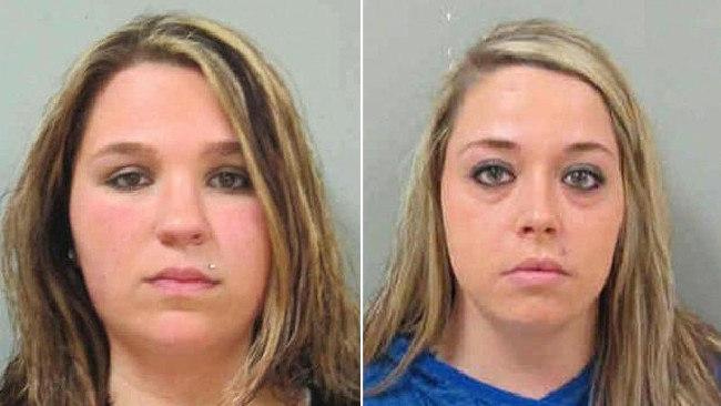 Paige Johanningmeier and Megan Penney Fayette Sheriff's Office Pictures: Fayette Sheriff's Office