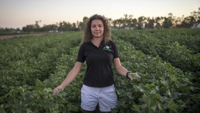FluroSat founder Anastasia Volkova. Picture: Stefanie Zingsheim/University of Sydney