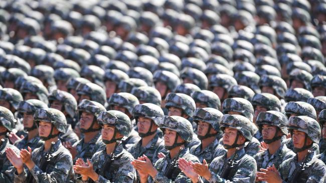 China's military defence budget may be growing, but that doesn't mean the country is a global superpower.