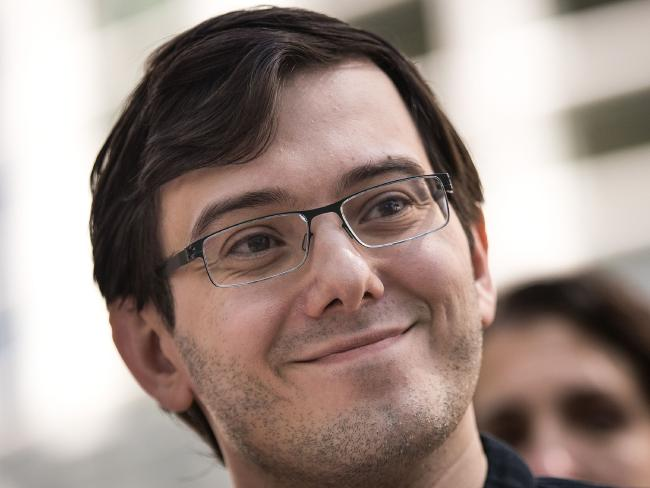 Former pharmaceutical executive Martin Shkreli has been sentenced to seven years in jail. Picture: Drew Angerer/Getty Images/AFP