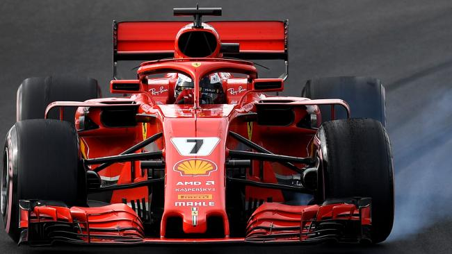 Kimi Raikkonen has claimed his first win since the 2013 Australian Grand Prix.