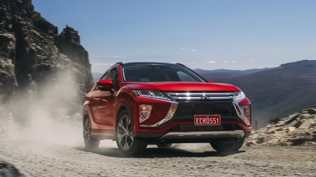 Eclipse Cross: Low dynamic limits.