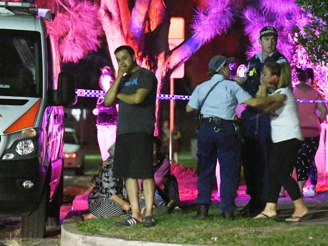A home invasion turned deadly overnight. Picture: Gordon McComiskie