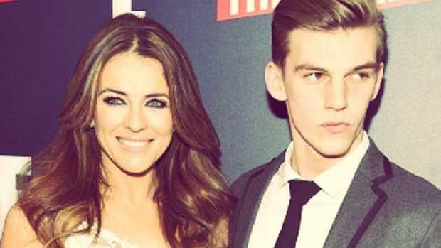 Miles is the nephew of English model and actor Liz Hurley. Source: Instagram