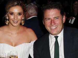 Karl Stefanovic and Jasmine Yarbrough exchange vows