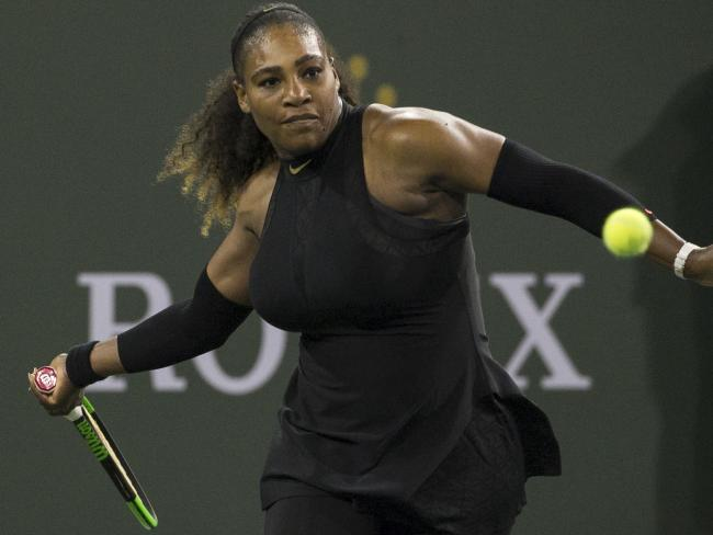 Serena Williams is back on the court.