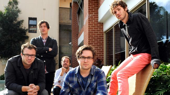 Ben Ottewell, Olly Peacock, Paul 'Blackie' Blackburn, Tom Gray and Ian Ball are looking forward to playing Bluesfest after returning from hiatus.