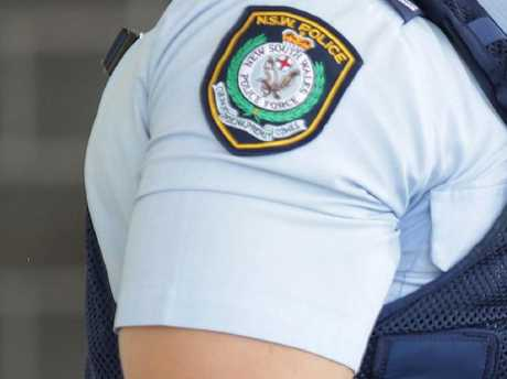 A 'fake' police officer kept a woman captive on Friday morning before raping her, a court has heard.