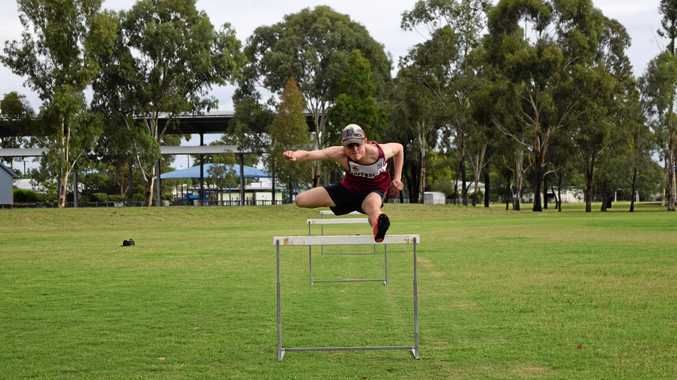 SYDNEY BOUND: Harry Coman ran a personal best time to book his place at the Australian Junior Athletic Championships. Coman, 15, will compete in the under-17 110m hurdles in Sydney this week.