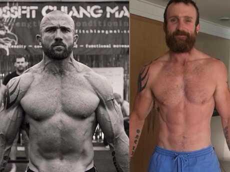 Australian adventurer Luke Richmond underwent an incredible transformation.