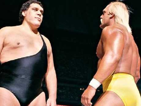 Andre the Giant was larger than life.