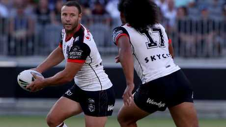 Blake Green played a key role for the Warriors in their win over the Rabbitohs.
