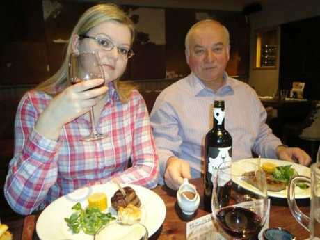 Ex-Russian spy Sergei Skripal, 66, and his daughter Yulia, 33, were both poisoned. Picture: Supplied